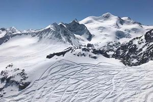 pitztal glacier powder