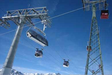 Ischgl ski lift