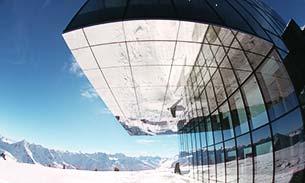 modern alpine venue
